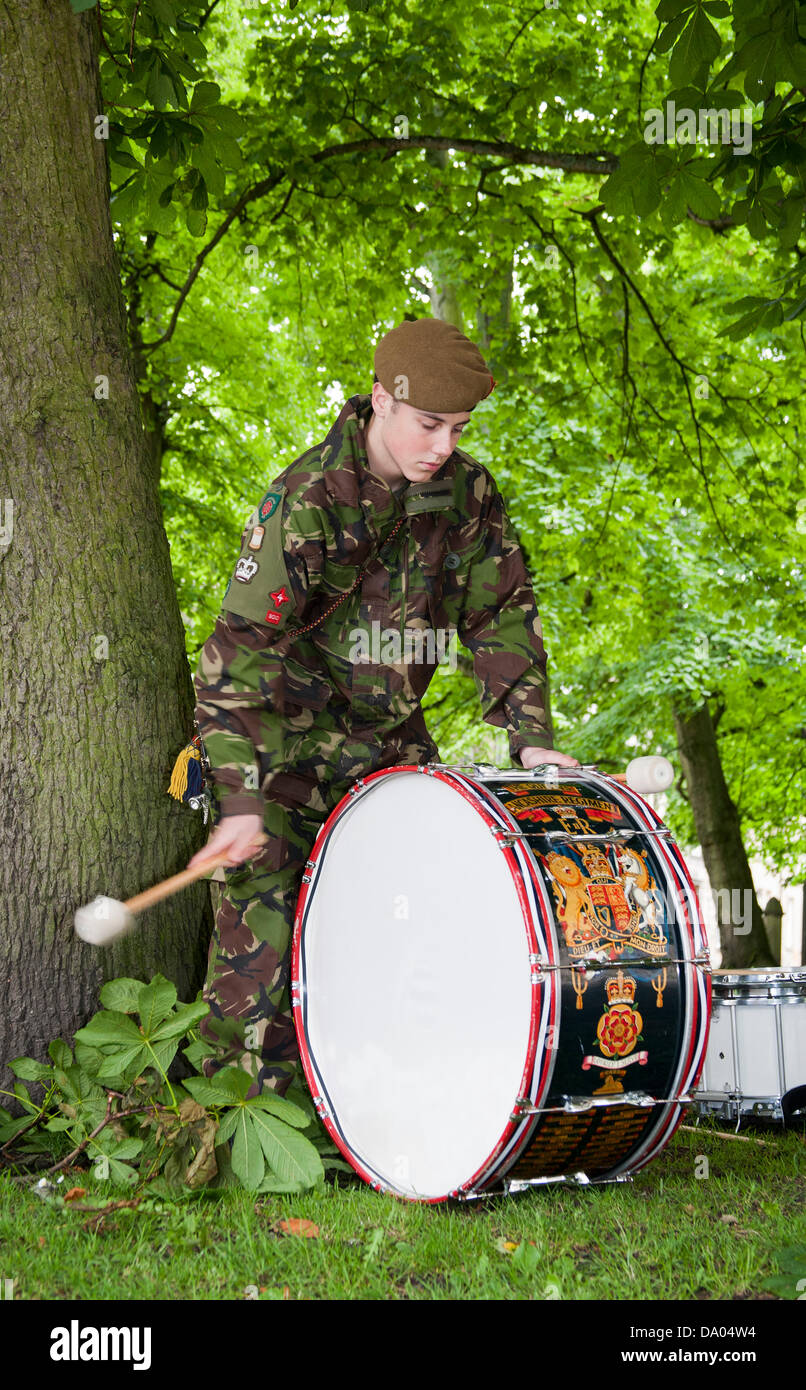 Kings Own Royal Border Regiment High Resolution Stock