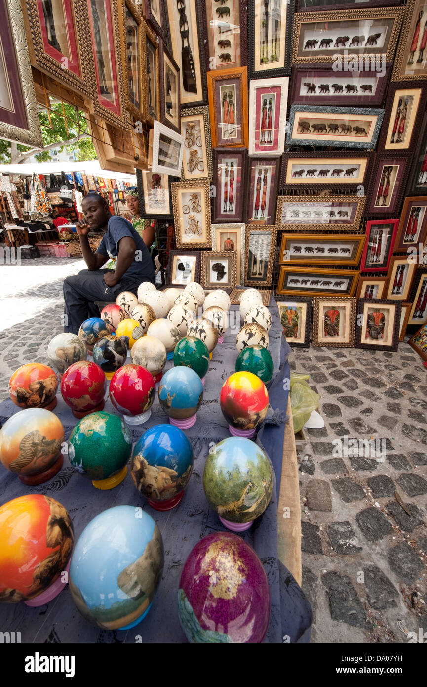 Art and craft for sale on greenmarket square cape town for Jamaican arts and crafts for sale