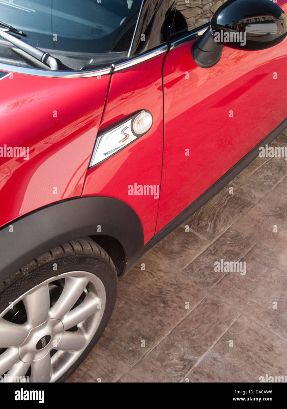 Mini Cooper S Automobile - Stock Image
