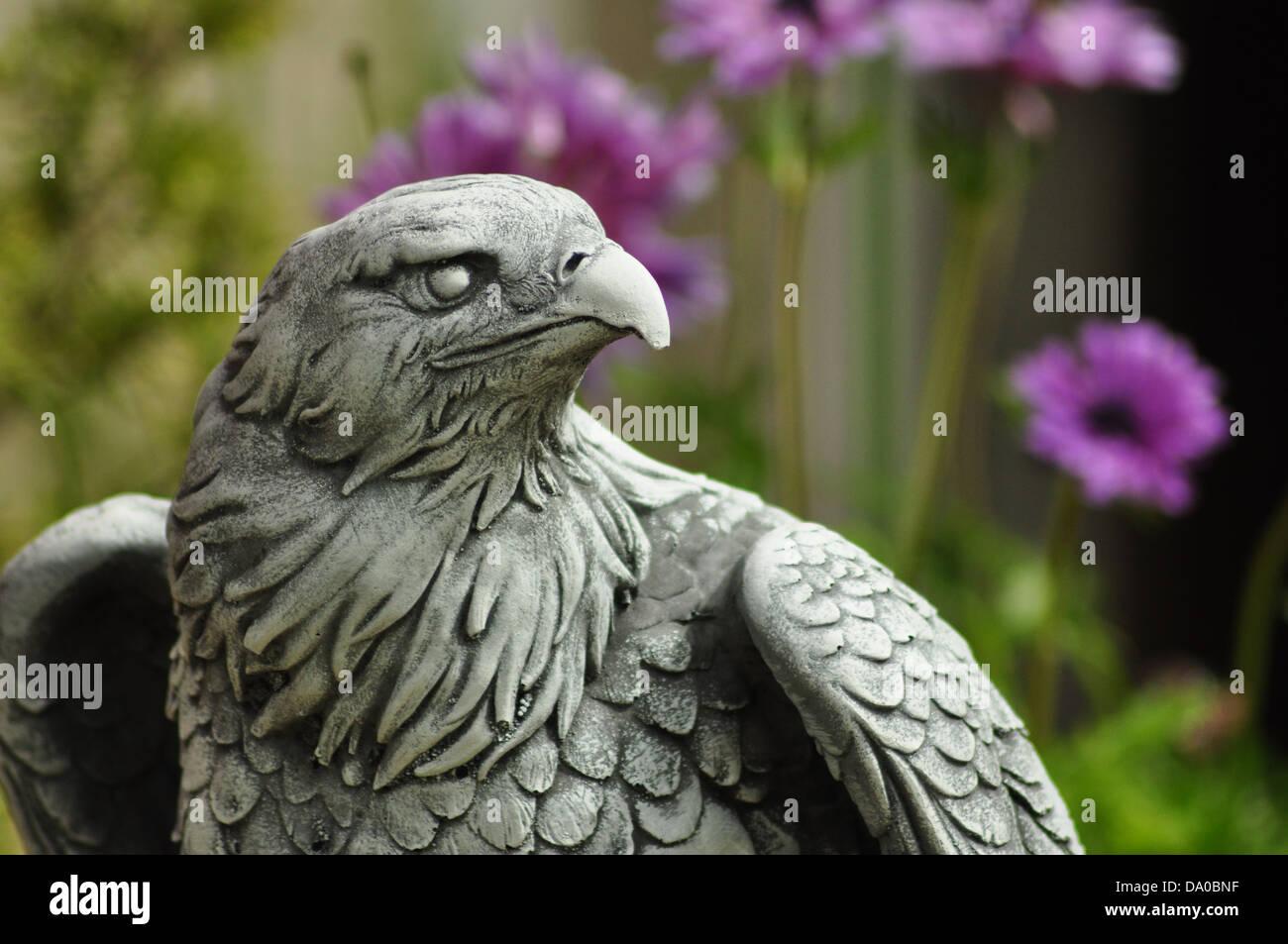 Garden Eagle   Stock Image