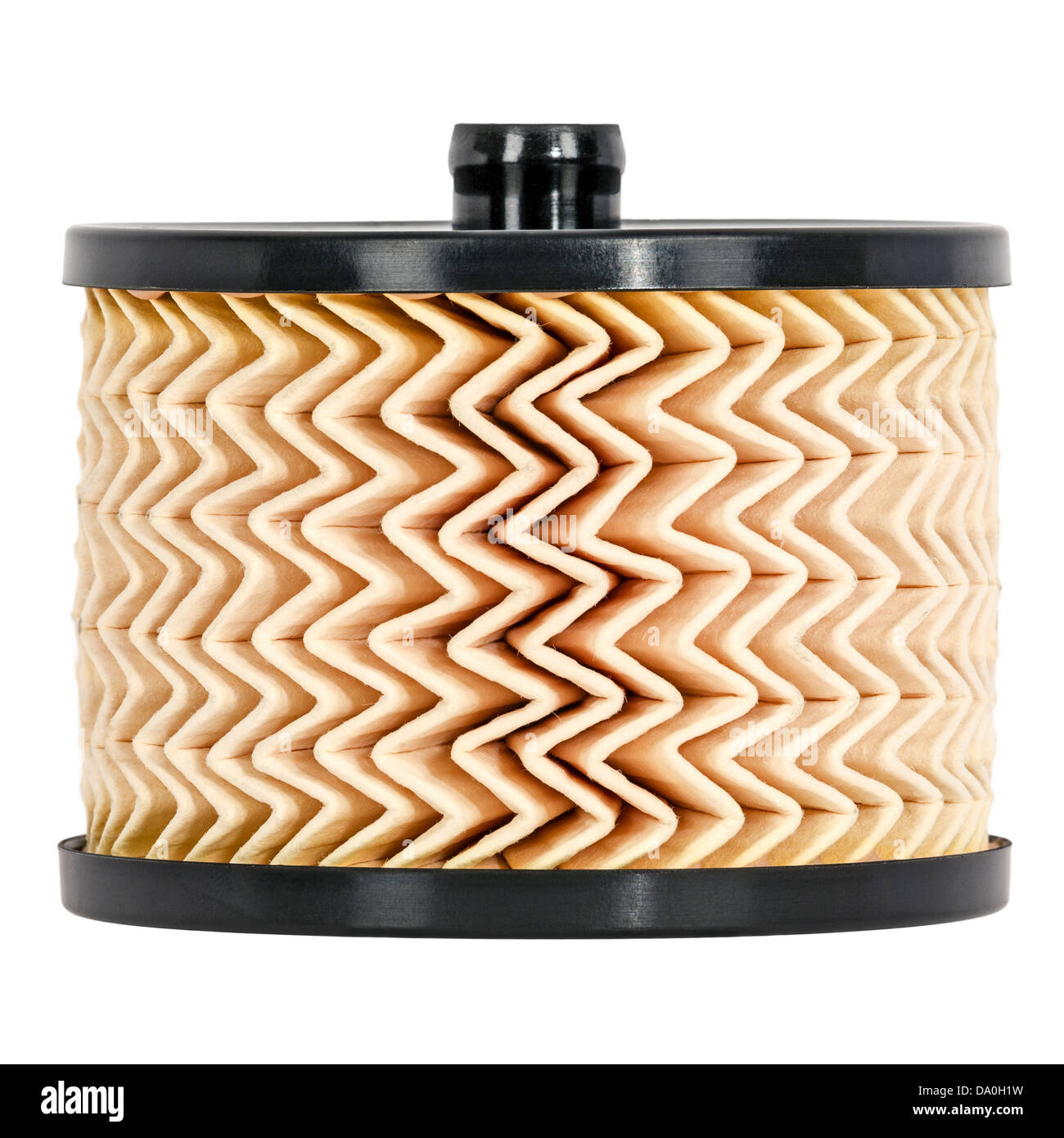 Replaceable fuel filter - Stock Image