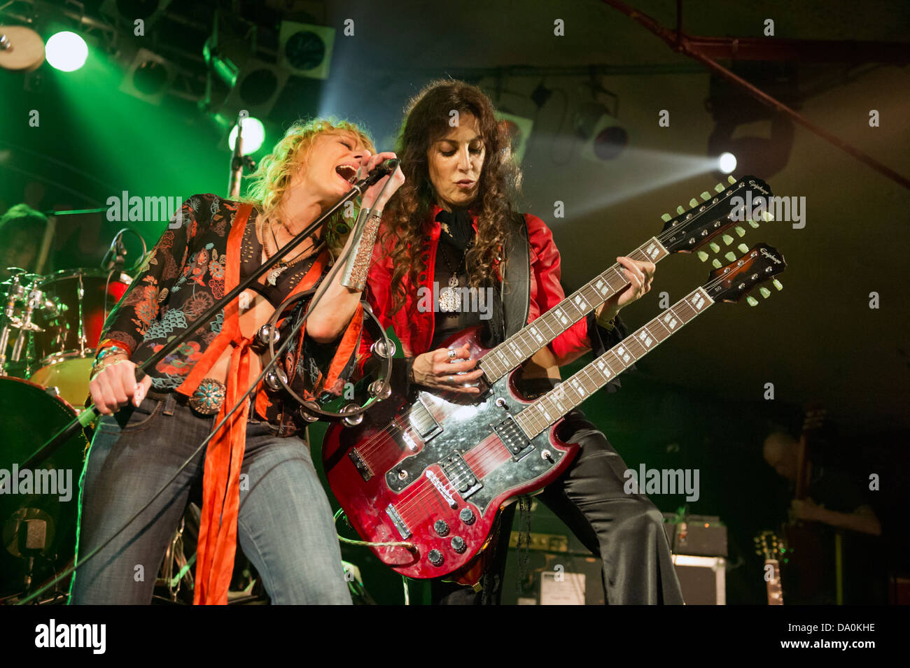 All Girl Tribute Band Lez Zeppelin In Concert At The