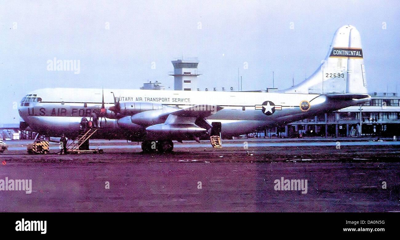 1700 ATG Boeing KC-97G-26-BO Stratofreighter 52-2693 - Stock