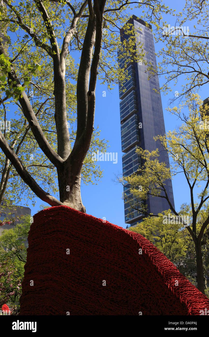 Madison Square Park New York - Stock Image