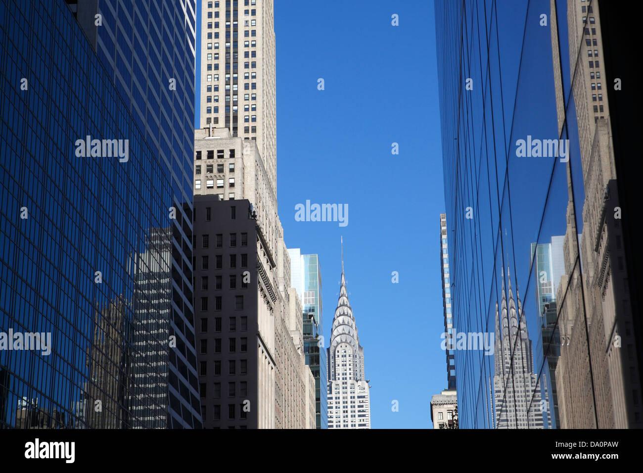 Chrysler building New York City - Stock Image