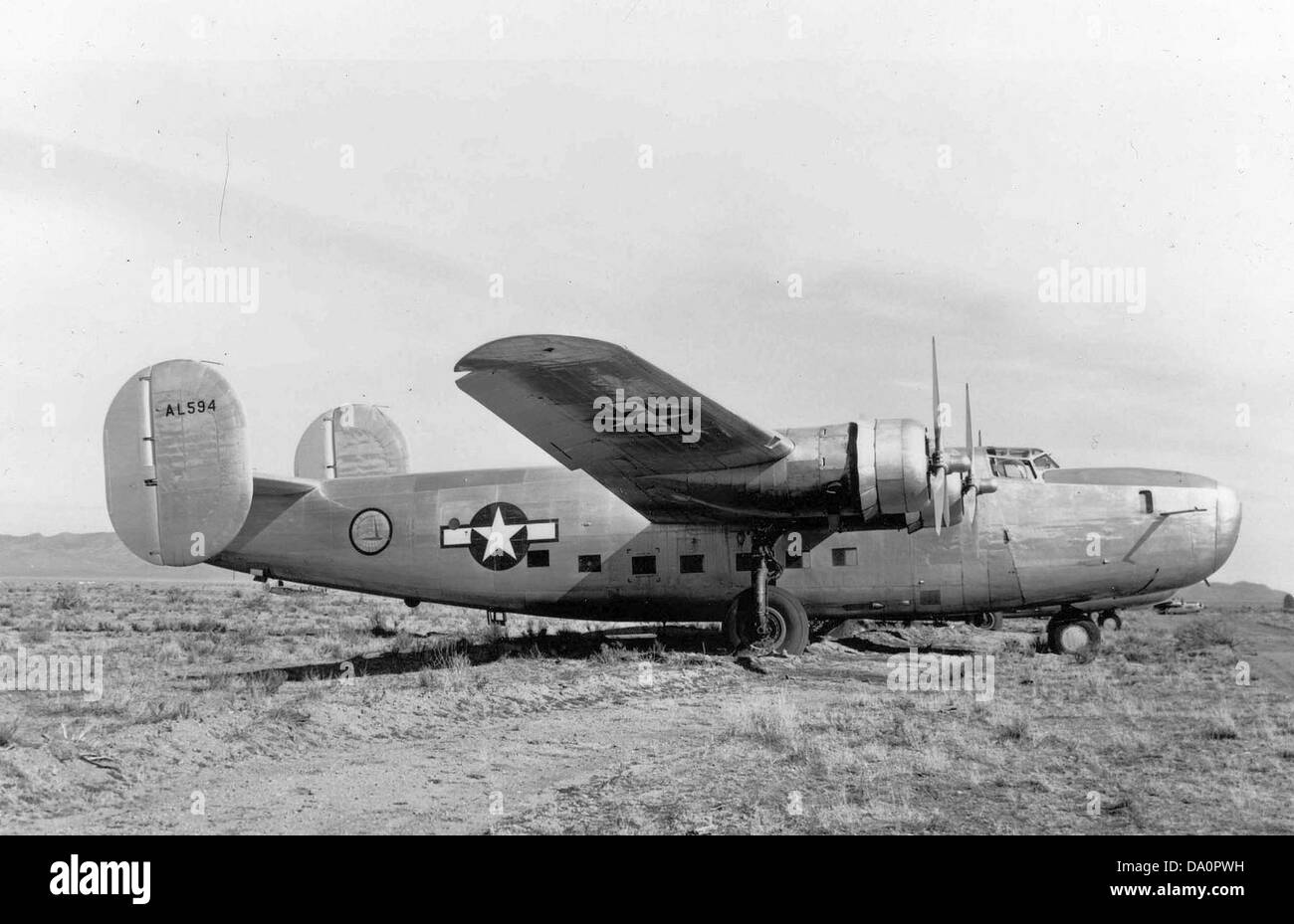 LB-30 Liberator with RAF Serial under Air Transport Command Stock Photo