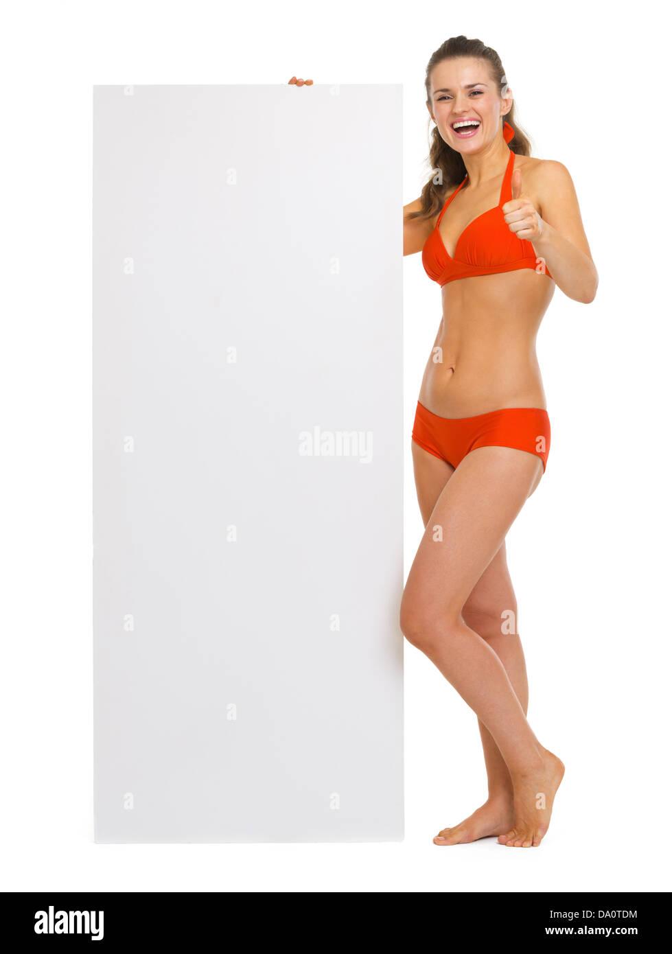 Schlampe Junge Bikini-Daumen von