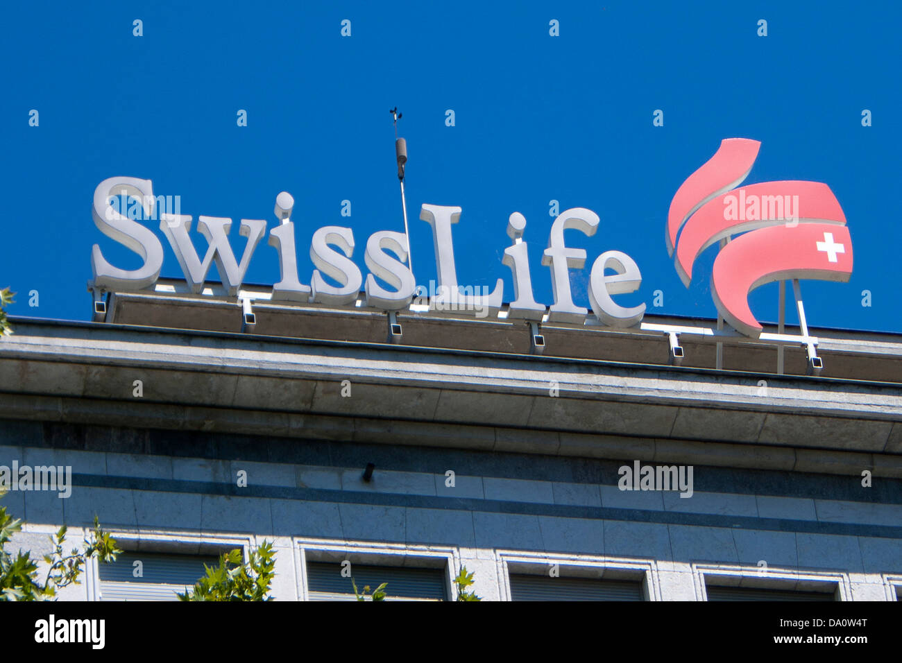 Swiss Life Logo, Zurich, Switzerland - Stock Image