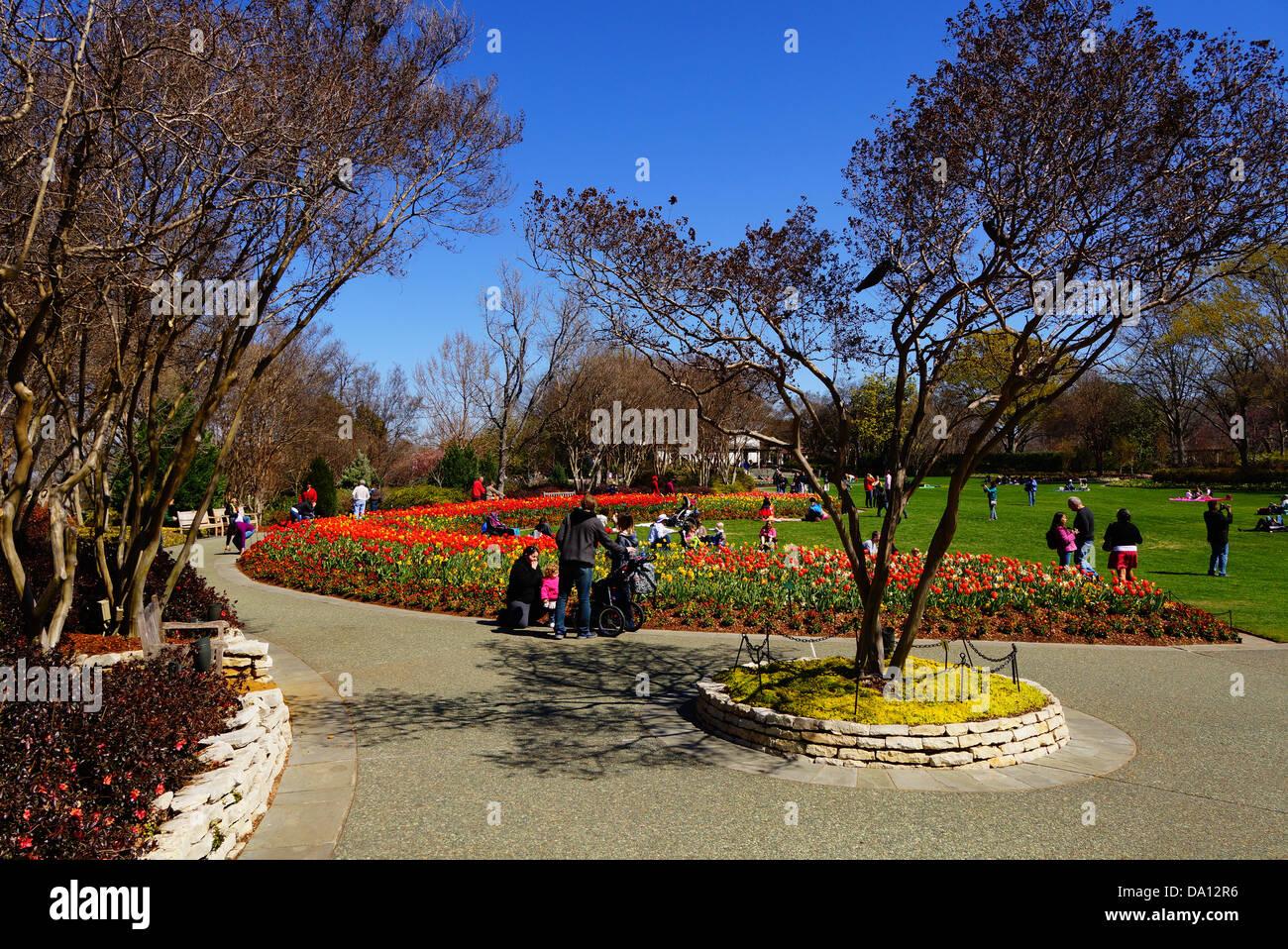 Dallas Arboretum Botanical Garden In Stock Photos & Dallas Arboretum ...