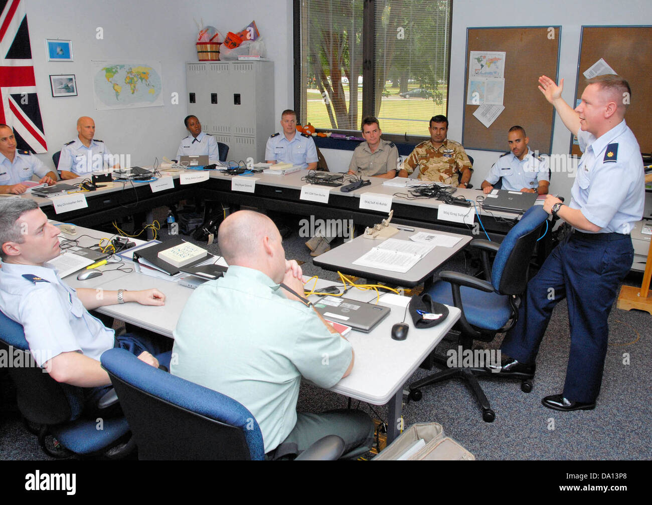 Air Command and Staff College trains strategic leaders at Maxwell AFB Alabama - Stock Image