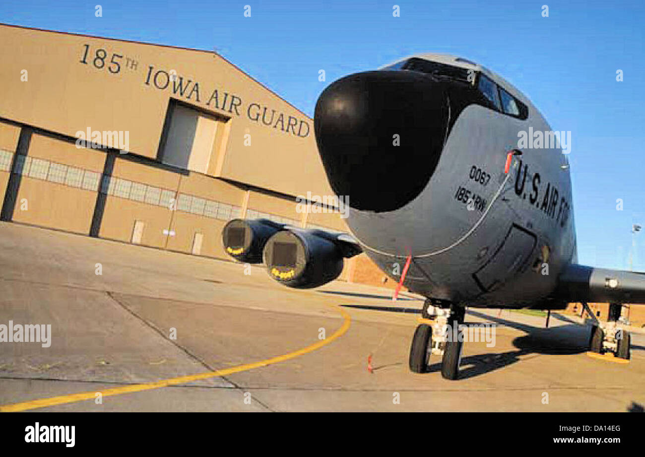 185th RW KC-135 - Stock Image