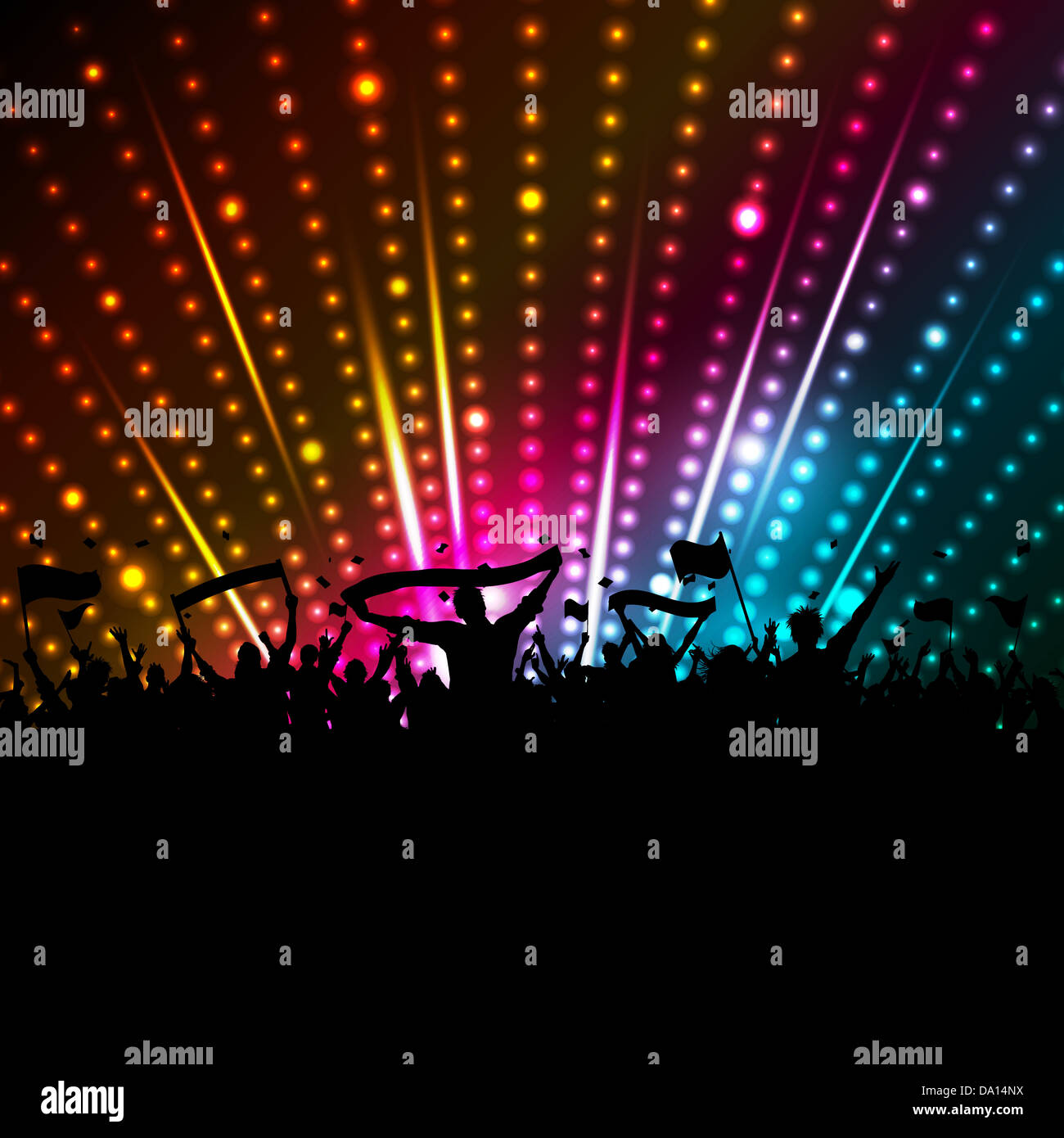 Page 3 Dancing Silhouettes Disco Lights High Resolution Stock Photography And Images Alamy