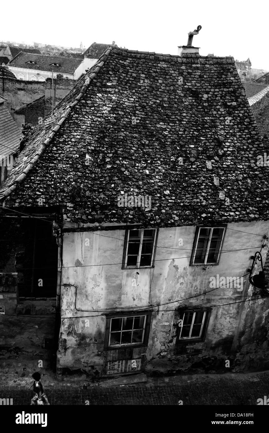 Romania, Transylvania. Sibiu town - Stock Image