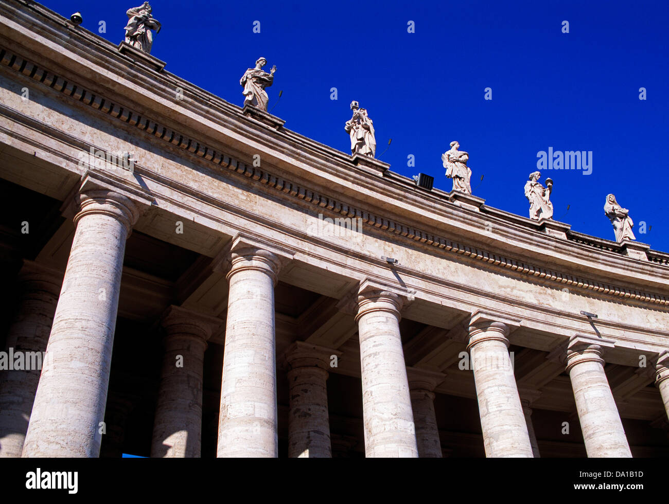 Detail of St. Peters, Rome, Italy - Stock Image