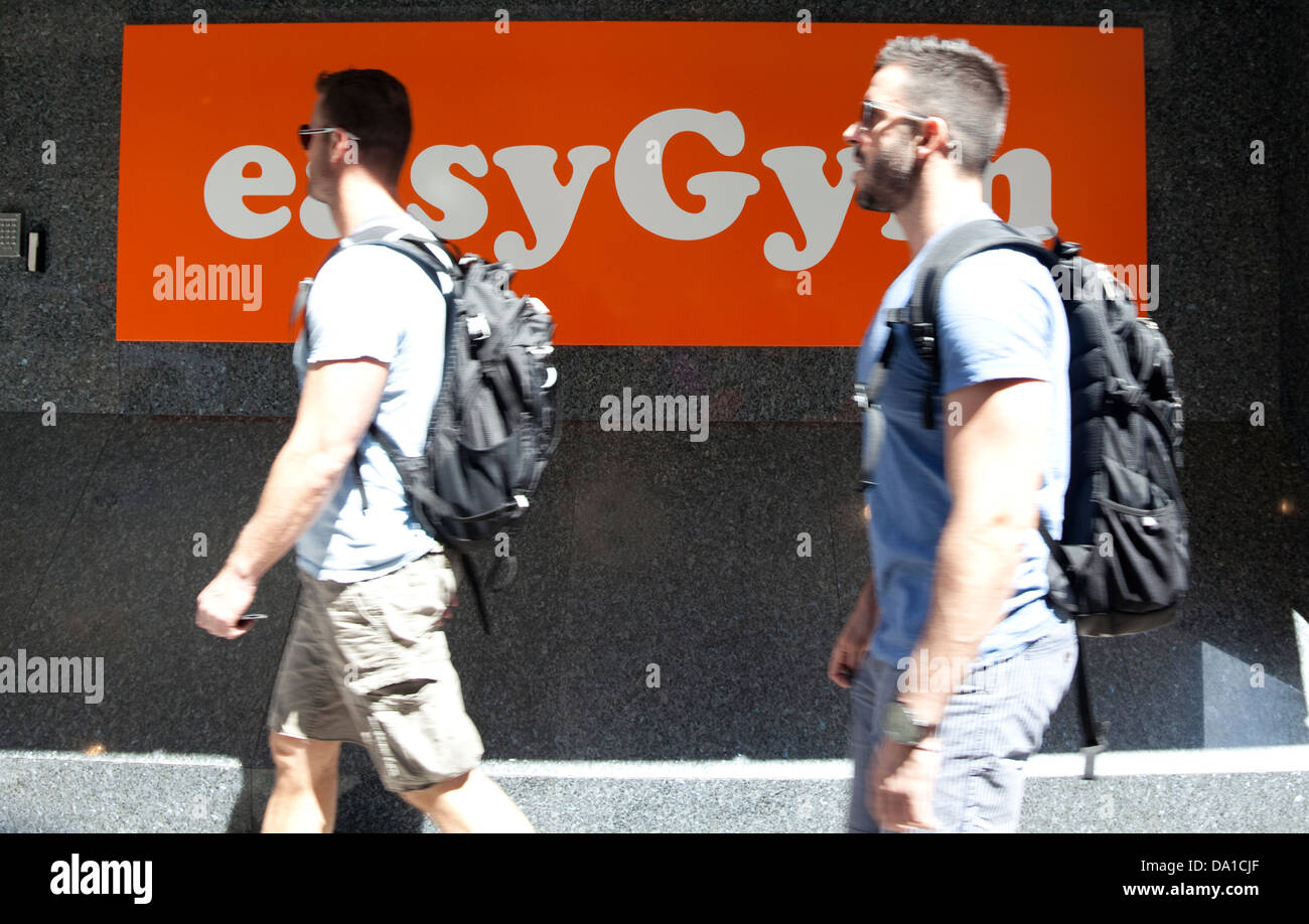 easyGym in Oxford Street, London - Stock Image