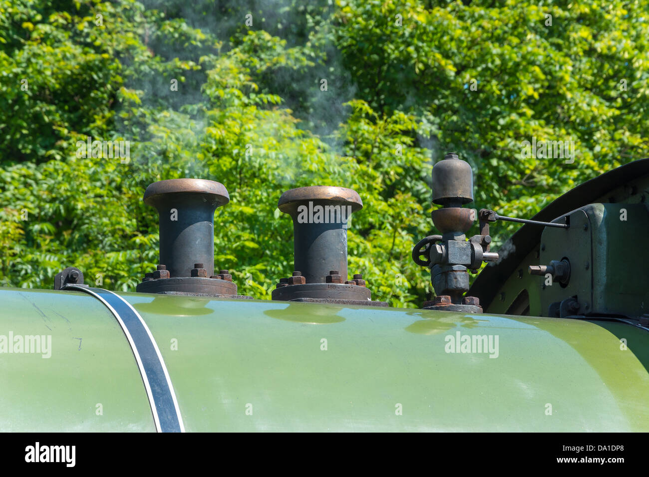 Vintage locomotive steam governor. - Stock Image