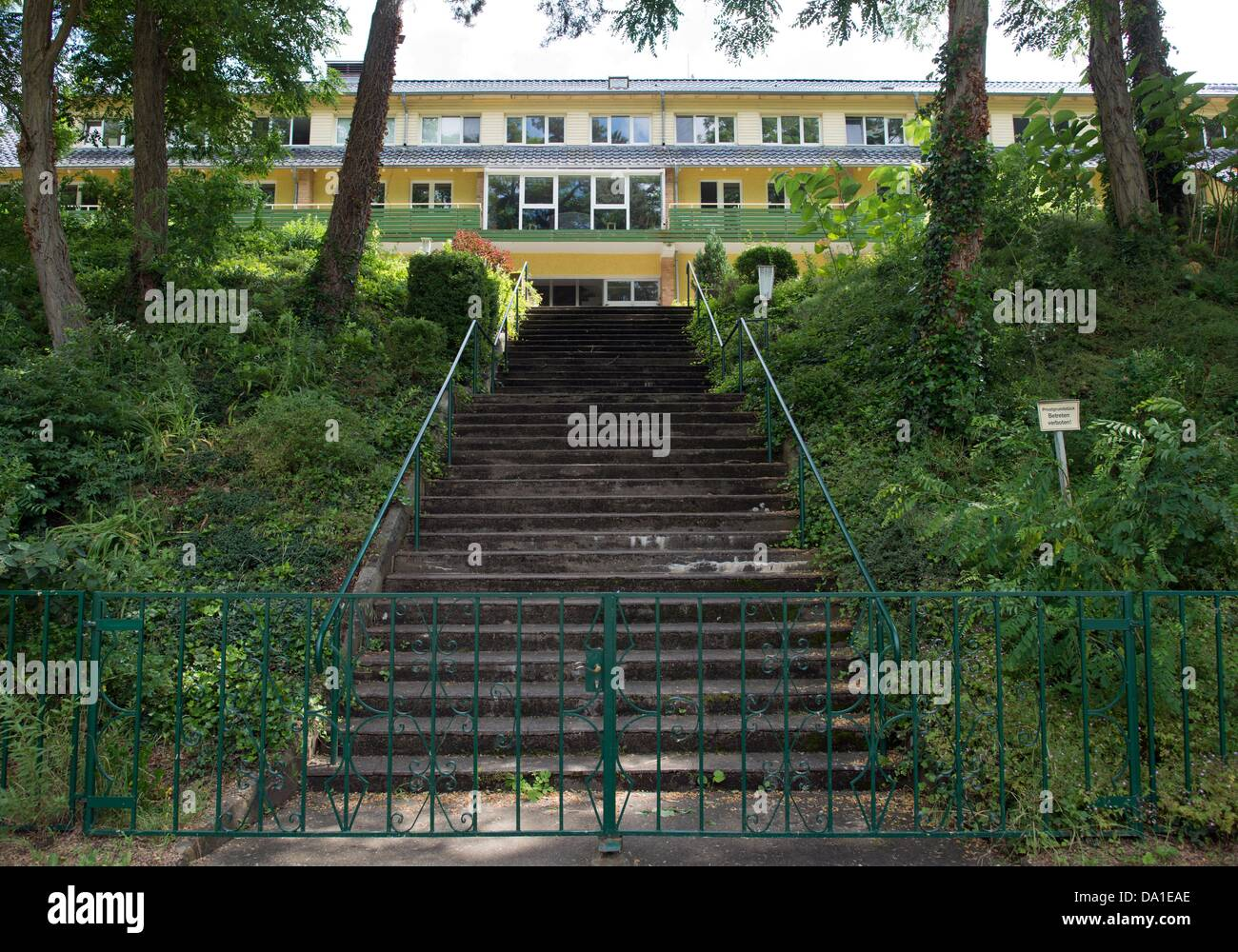 The children's and youth's home 'Haus Babenberg' of the Haasenburg GmbH is pictured in Jessen, Germany, - Stock Image