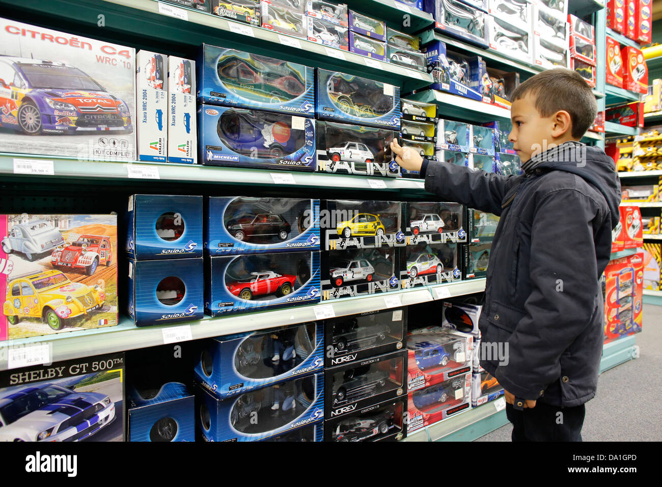 Toys For Boys Store : Toys for boys shop stock photos