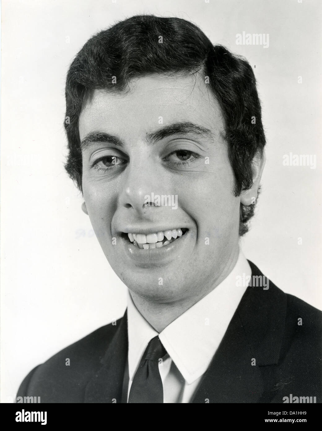 JOHNNY TUDOR  UK pop sin.ger in February 1968 - Stock Image