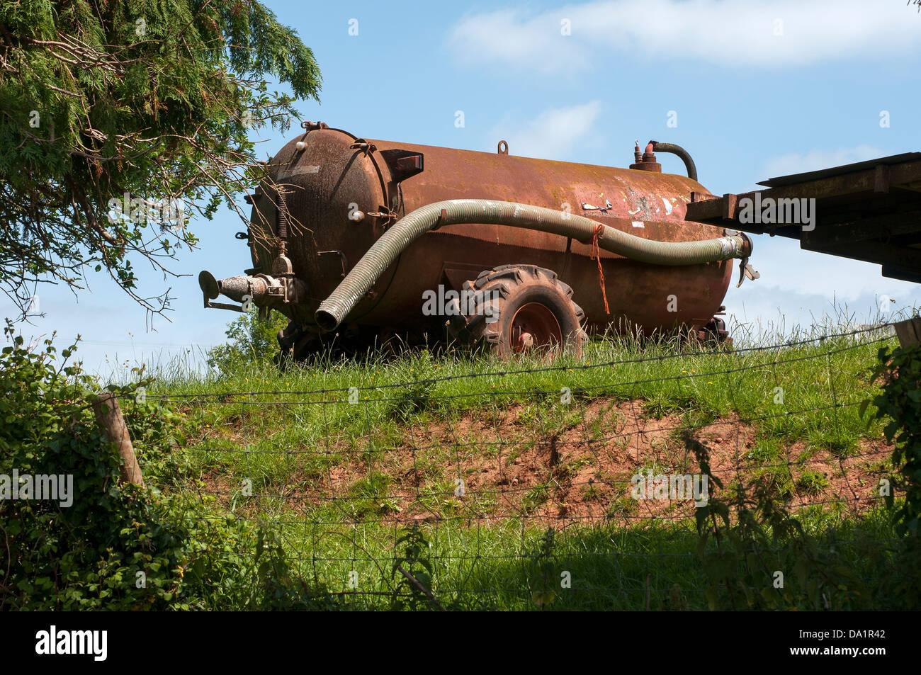 Farming,farm equipment,Farming in Devon,defra,the environment, rural development, the countryside, wildlife, animal - Stock Image