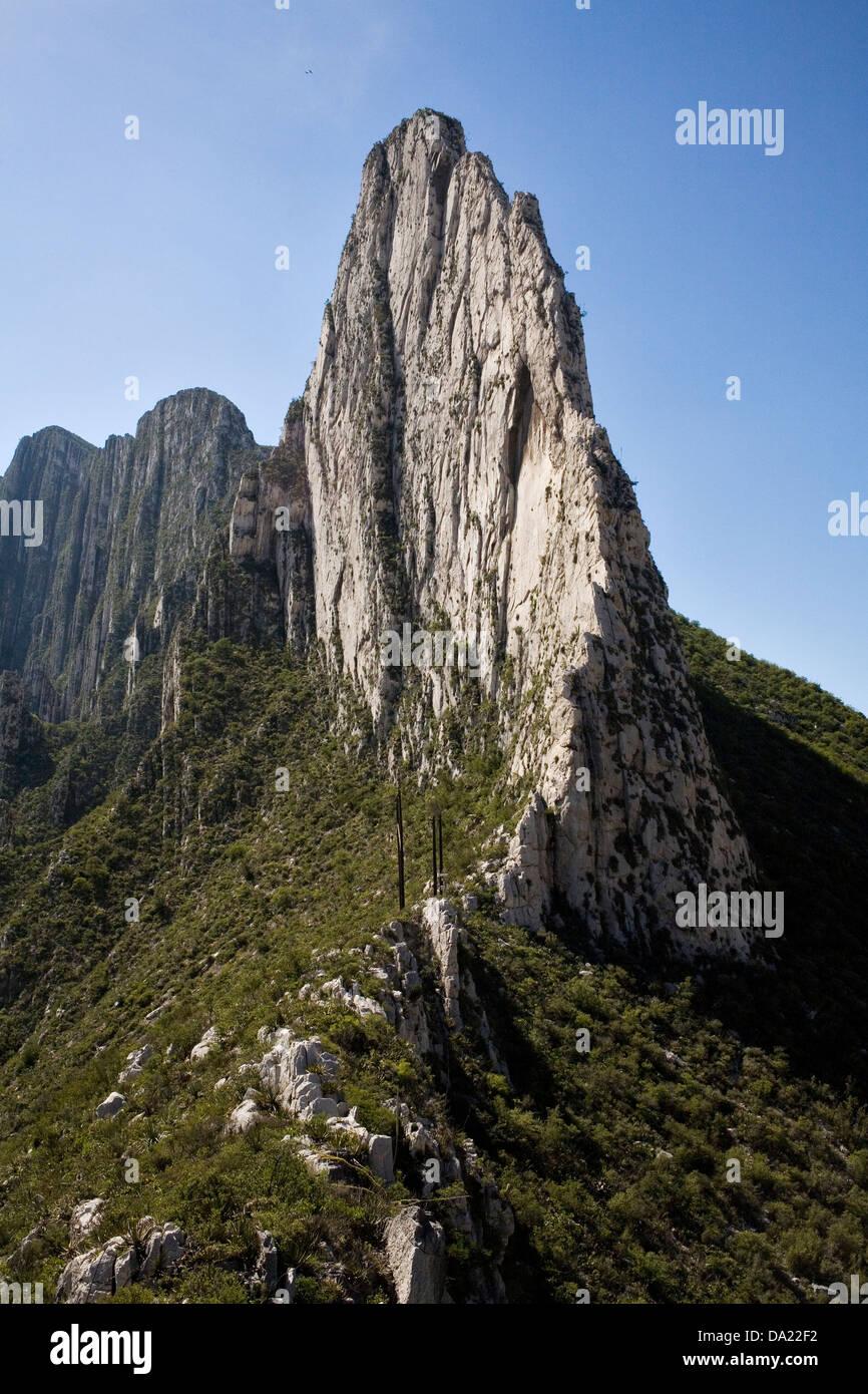 La Huasteca Canyon, near to Monterrey, Mexico Stock Photo