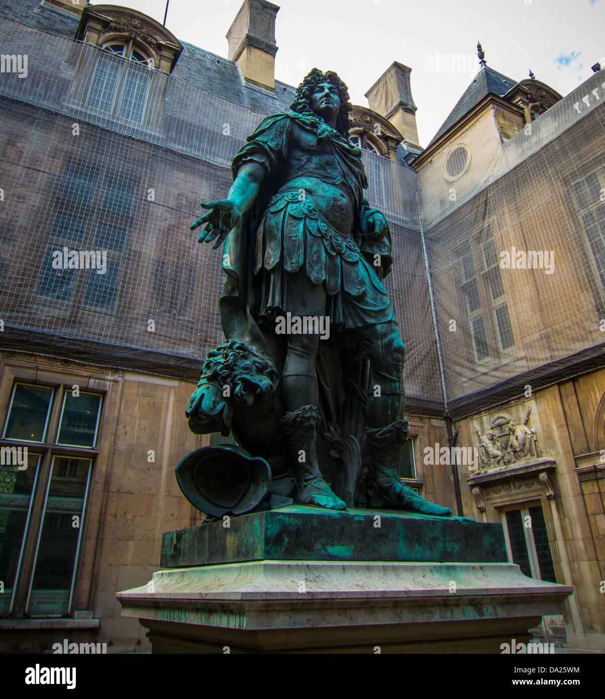 Museum Carnavalet in Paris - Stock Image