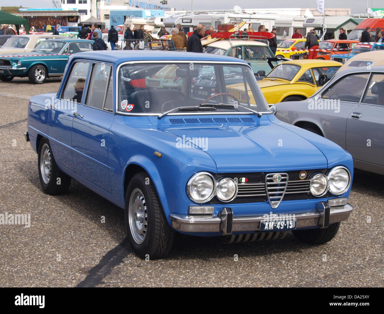 ALFA ROMEO GIULIA SUPER LUSSO AM Stock Photo - Alfa romeo giulia 1972