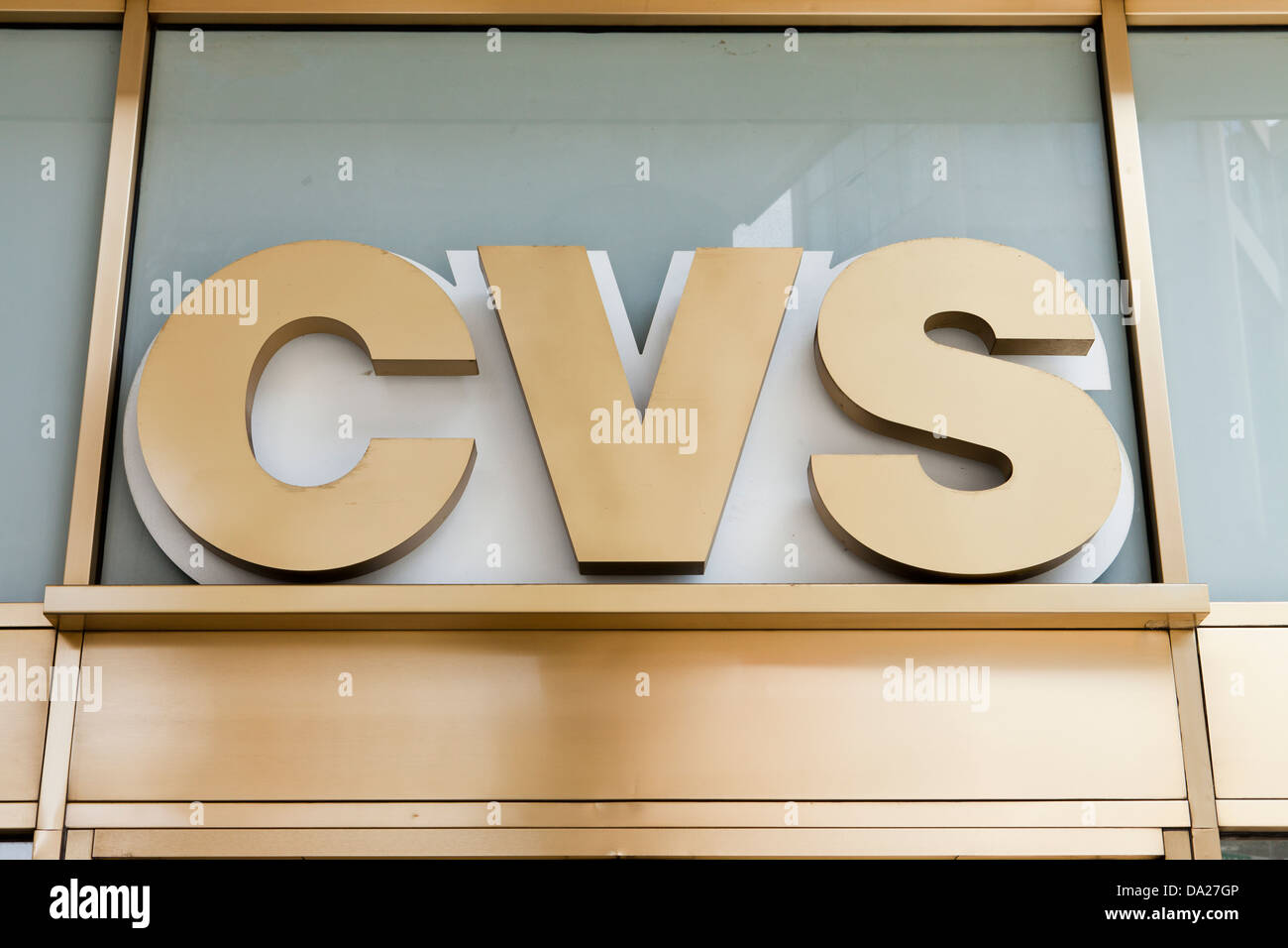 Cvs Pharmacy Storefront Sign Stock Photos Cvs Pharmacy Storefront