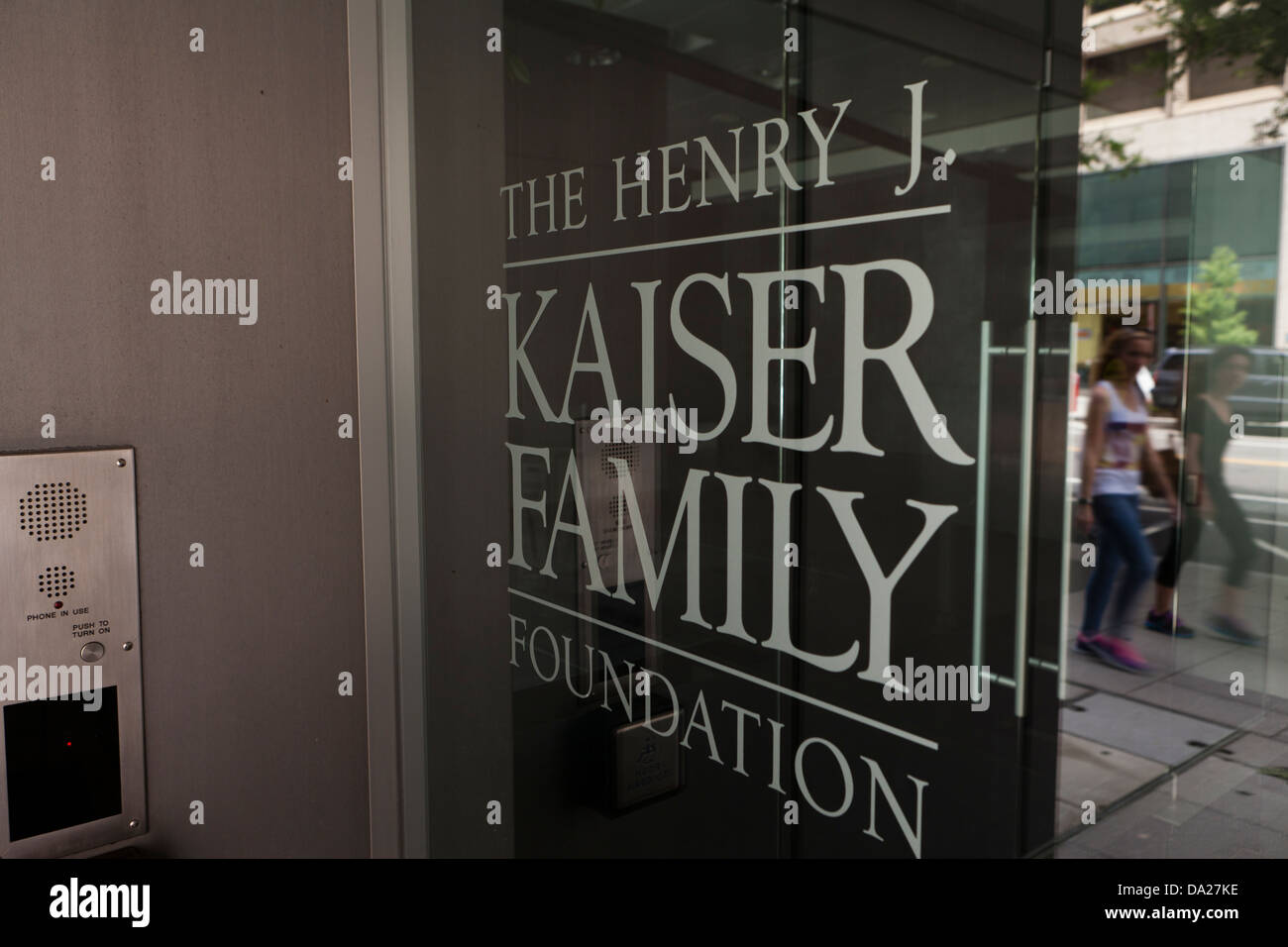 The Henry J Kaiser Family Foundation building, Washington DC - Stock Image