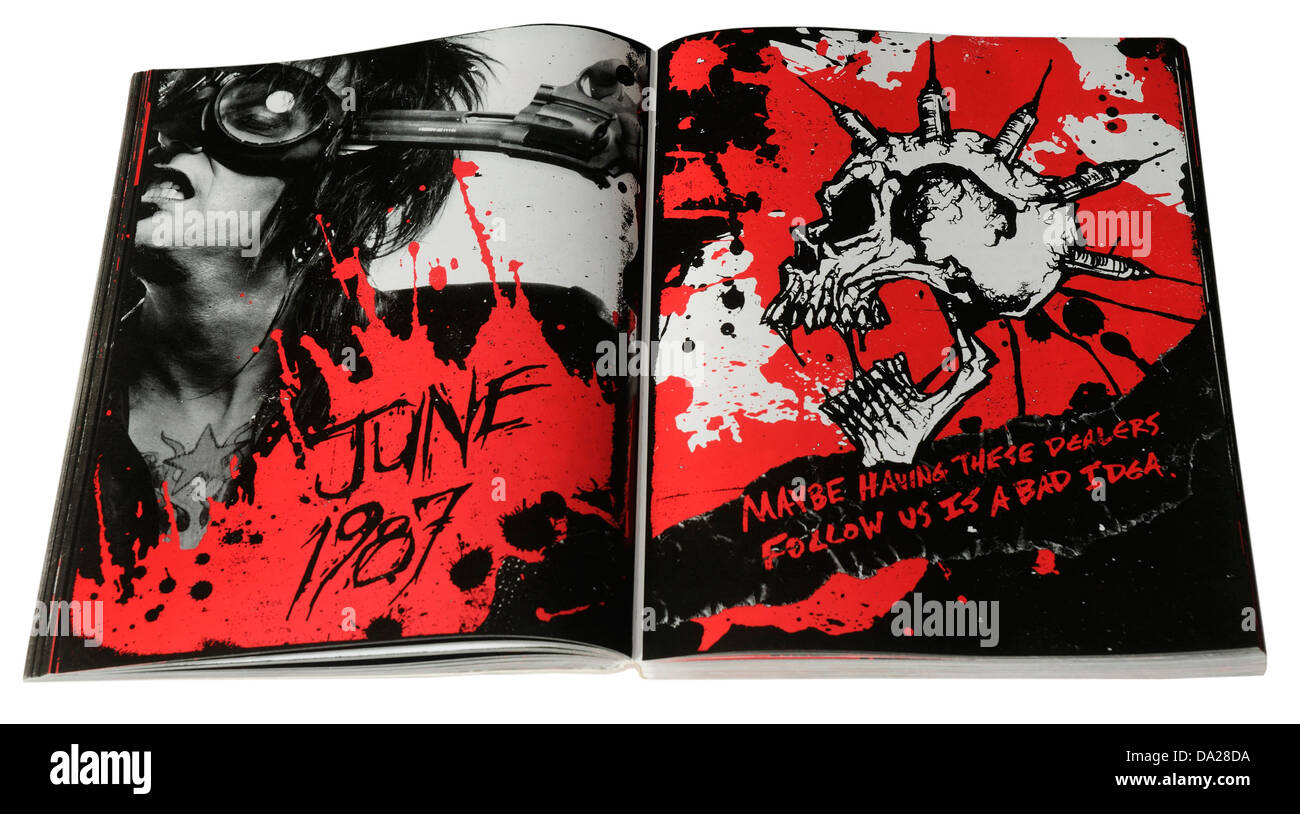 The Heroin Diaries by Nikki Sixx - Stock Image