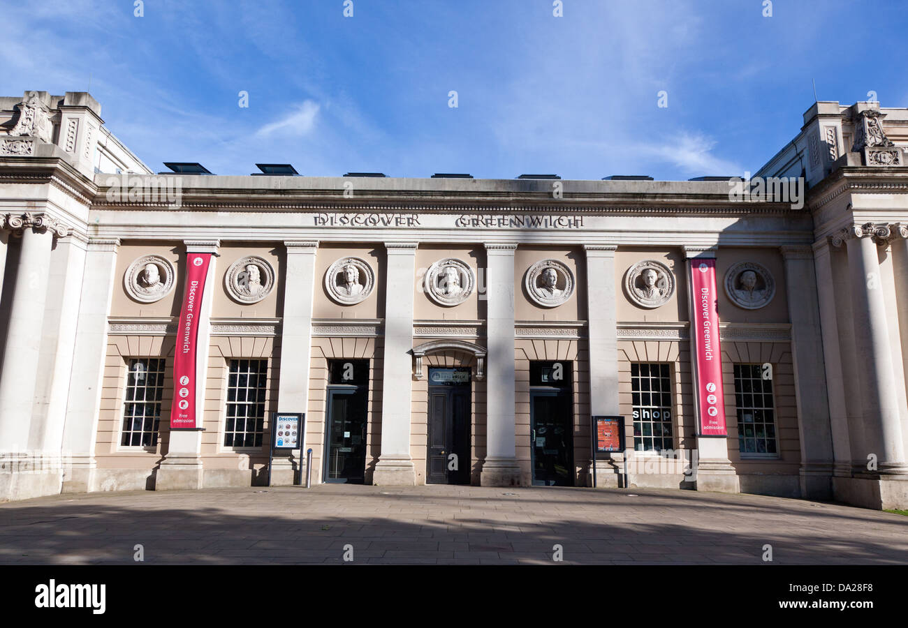 Discover Greenwich Museum London UK - Stock Image