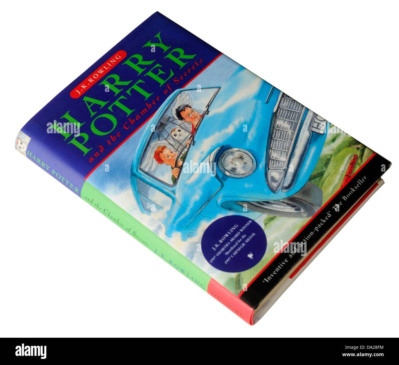 The 2nd Harry Potter book Harry Potter and the Chamber of Secrets - Stock Image