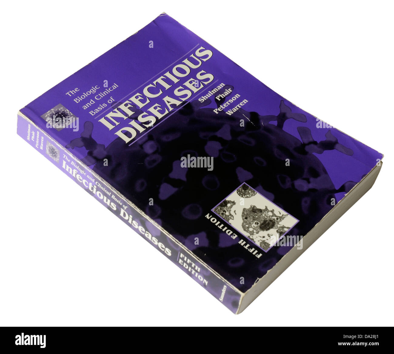 Infectious Diseases medical text book - Stock Image