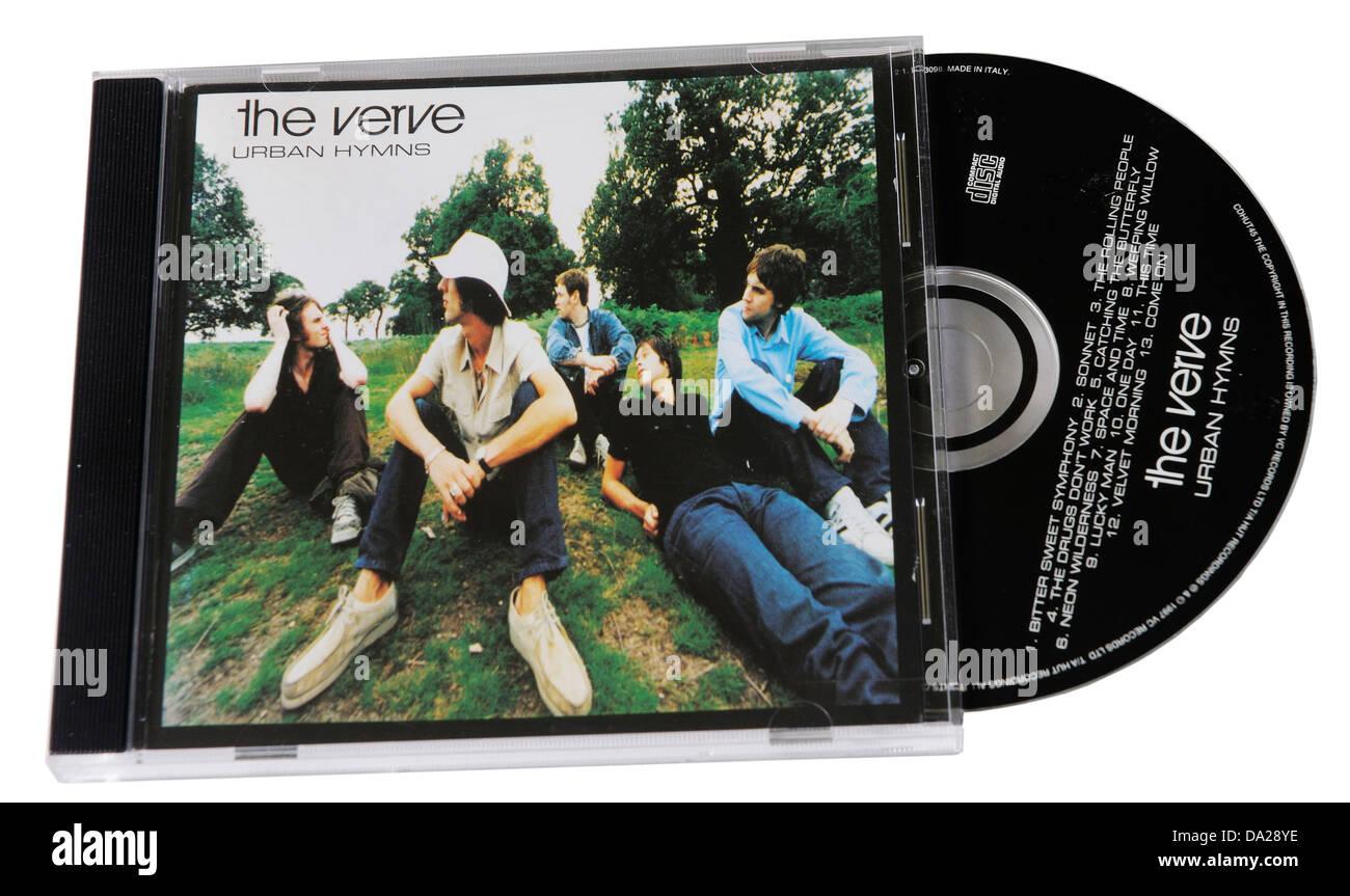 The Verve Urban Hymns album on CD Stock Photo