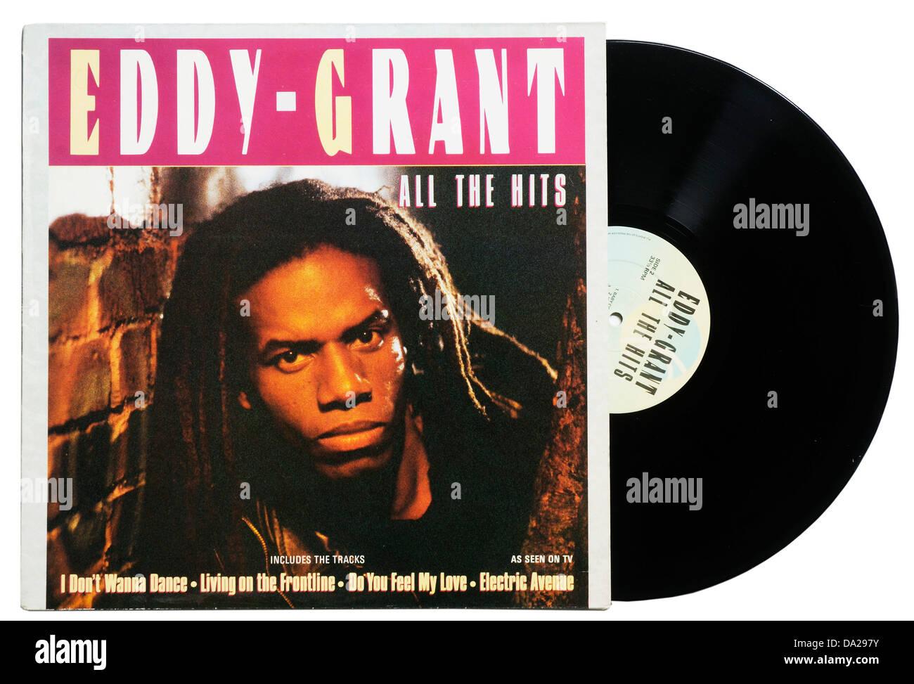 Eddy Grant All the Hits album - Stock Image