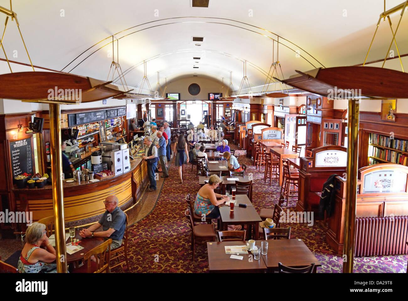 Art Deco interior of The Regent pub (formerly Palace cinema