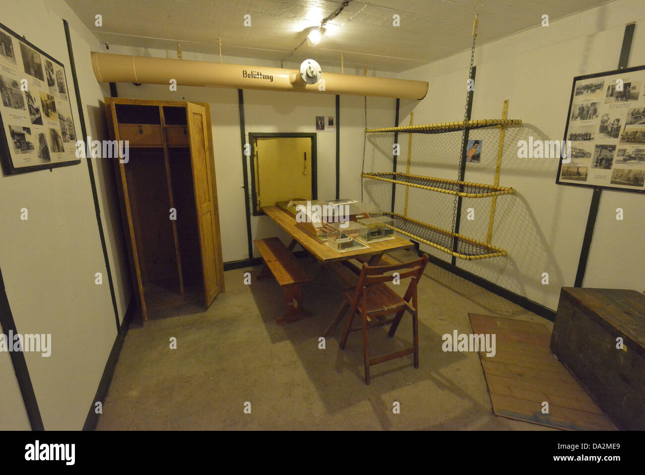 The world war two German bunker at Noirmont in Jersey, The Channel Islands. Stock Photo