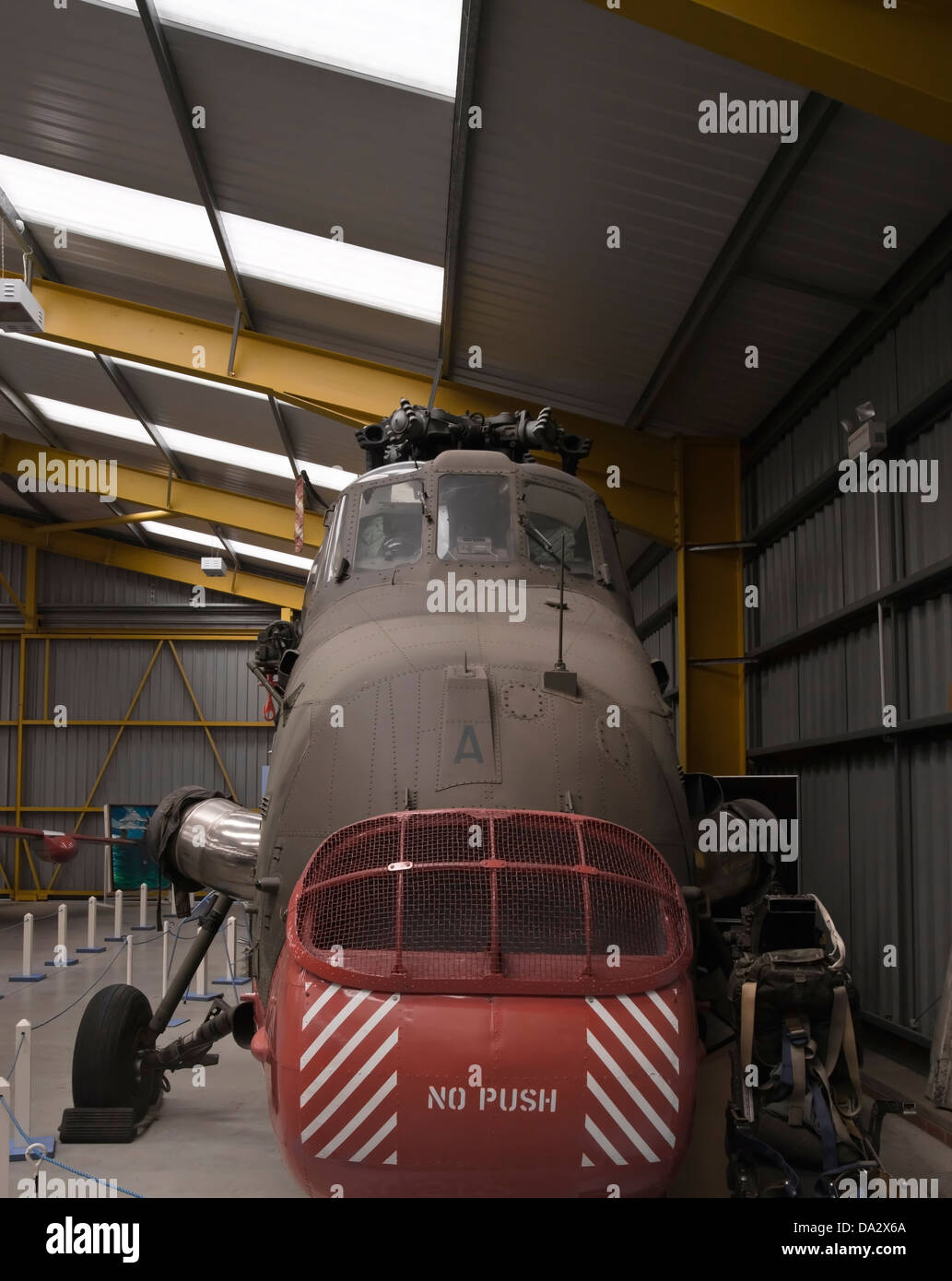 westland wessex hc mk 2 xv728 military helicopter newark air museum - Stock Image