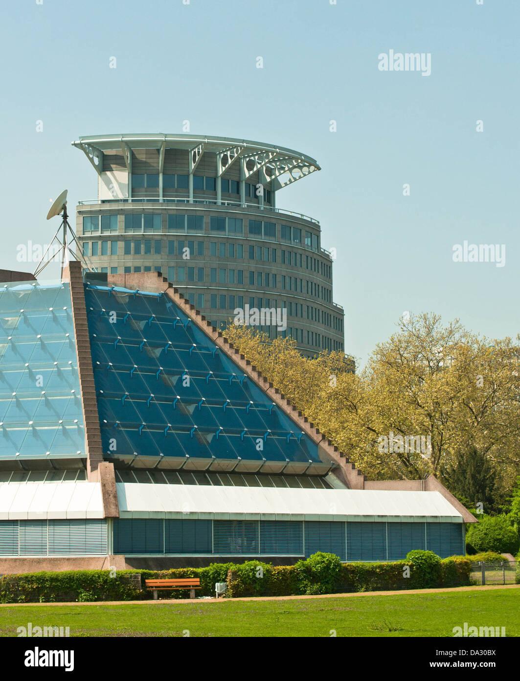 Deutschland, Geschaeftsviertel, Mannheim, Observatorium Stock Photo