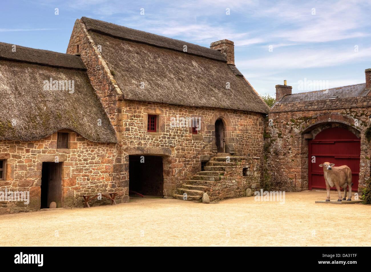 Hamptonne Country Life Museum, Jersey, United Kingdom Stock Photo ...