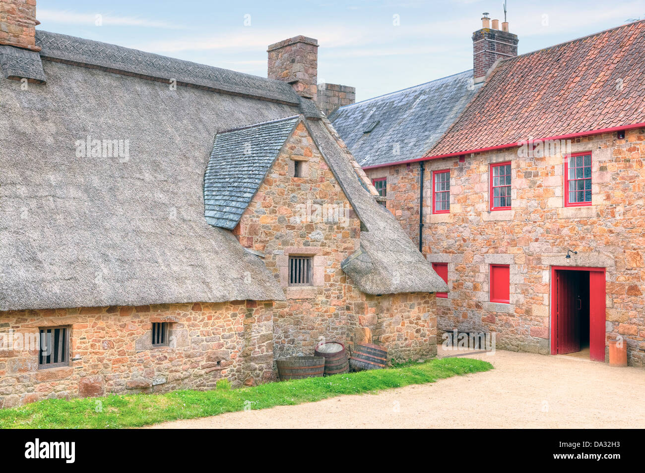 hamptonne country life museum jersey united kingdom stock photo alamy alamy