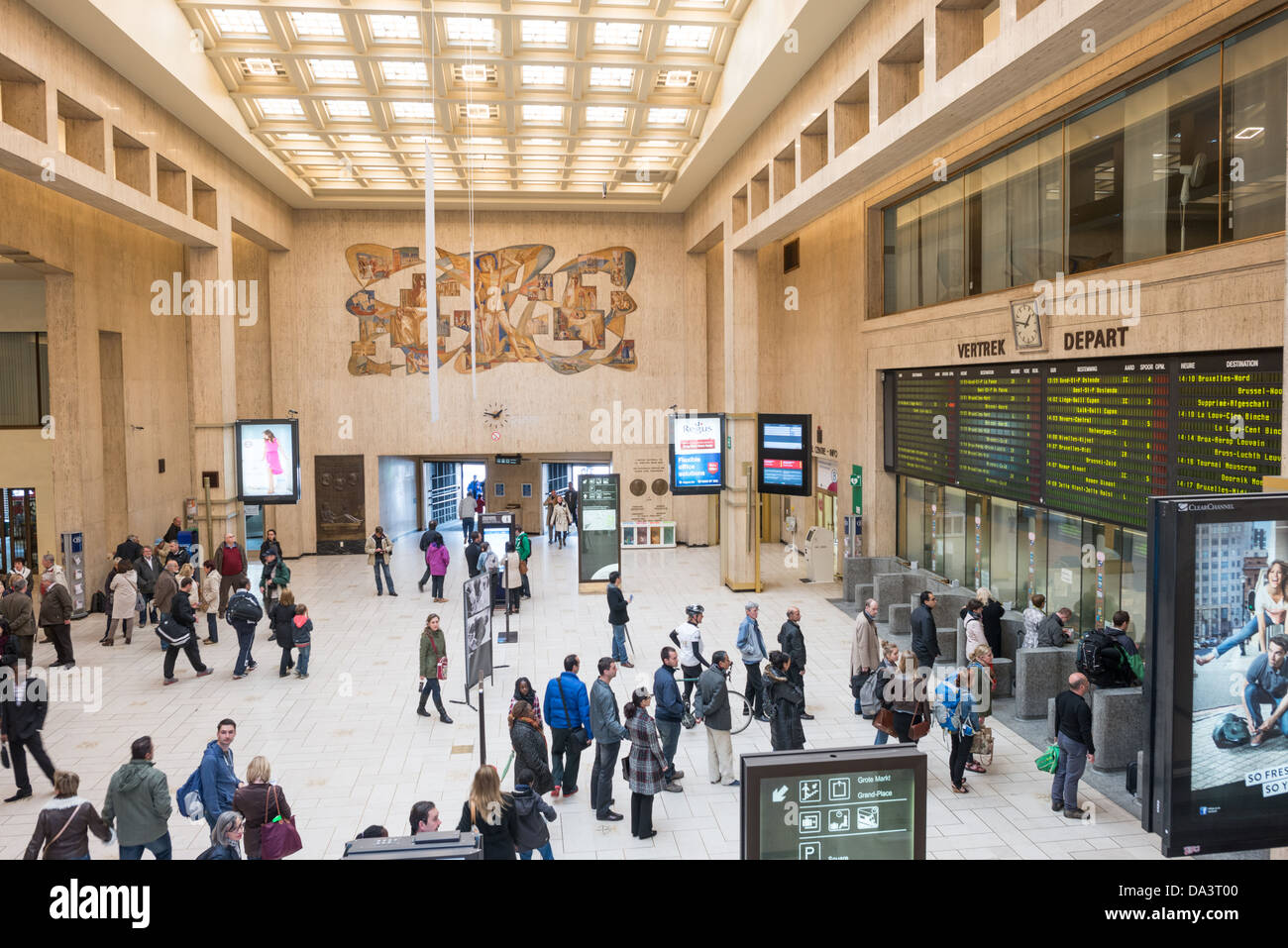 Brussels Railway Station Stock Photos Amp Brussels Railway