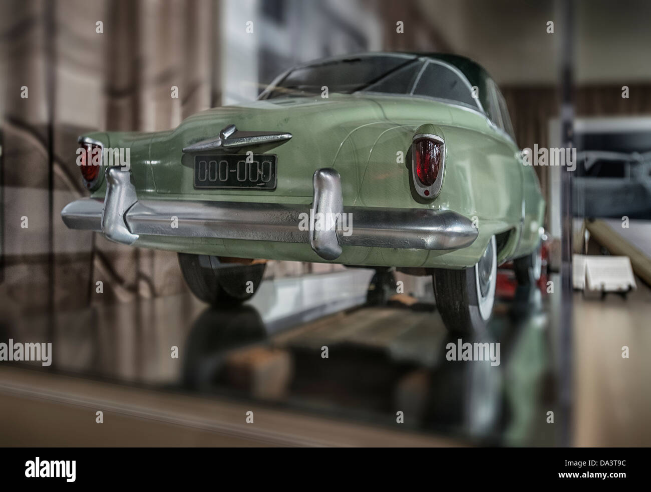 A design study clay model for a1950's Studebaker automobile - Stock Image