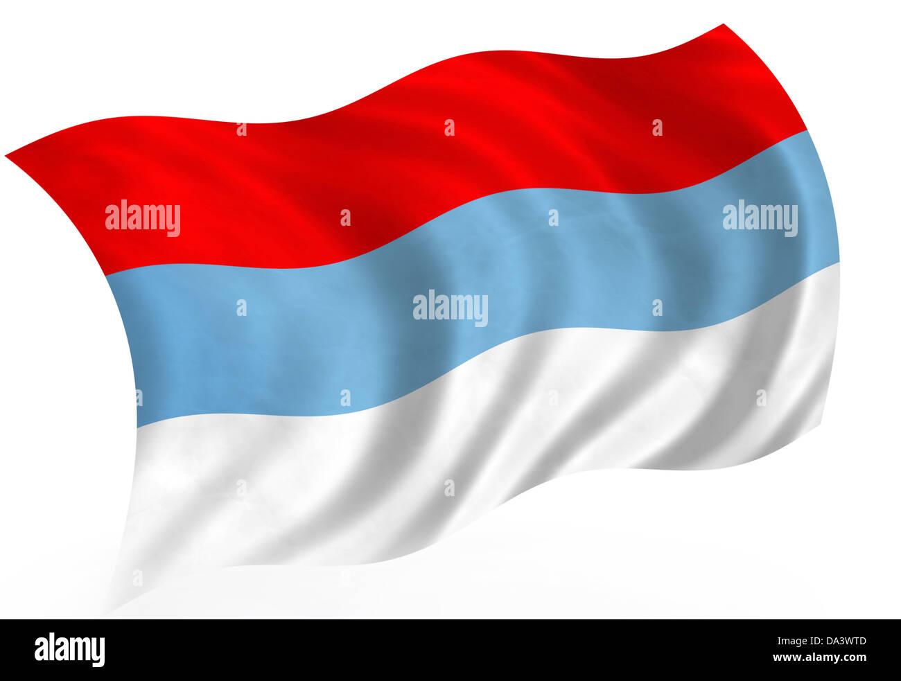 Montenegro flag Stock Photo