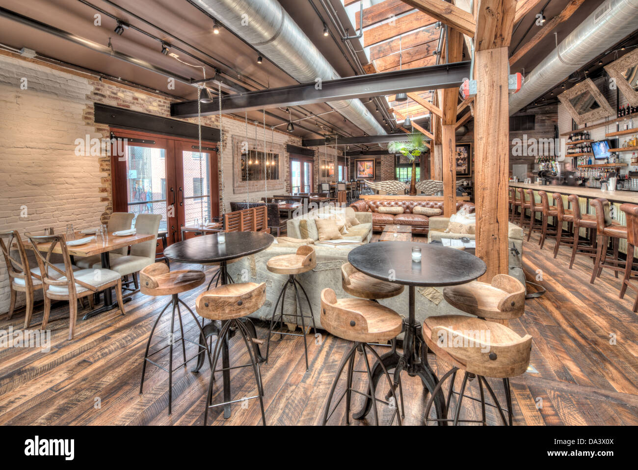 The Interior Of Virtue Feed And Grain A Restaurant And