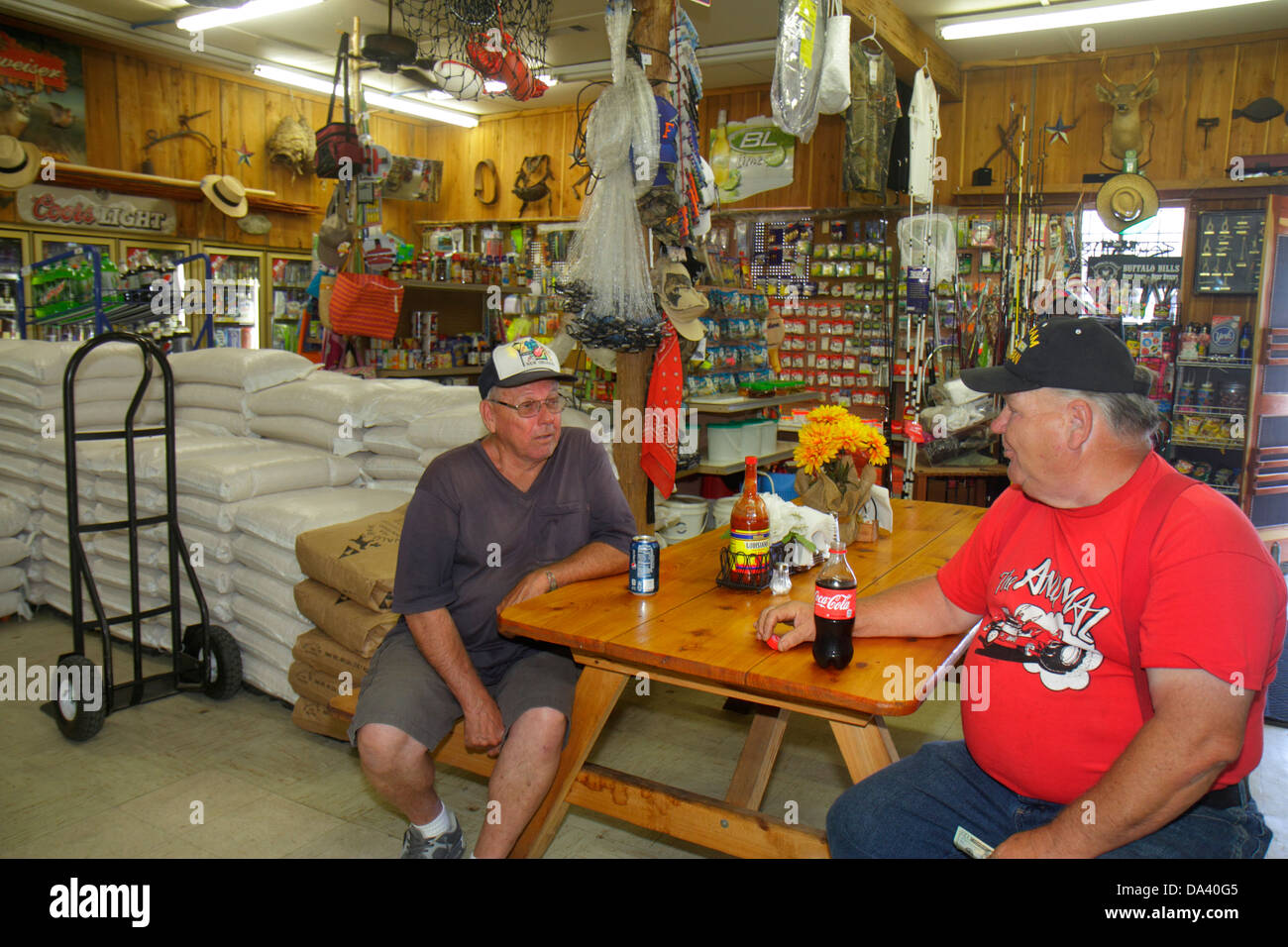florida otter creek highway route 98 country general store inside