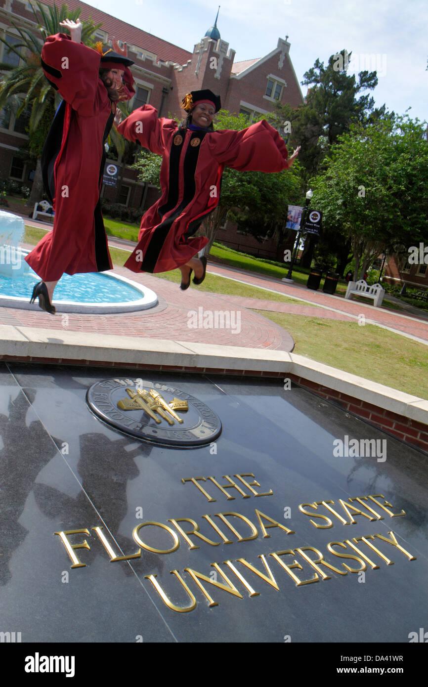 Tallahassee Florida Florida State University Fsu Campus School Stock