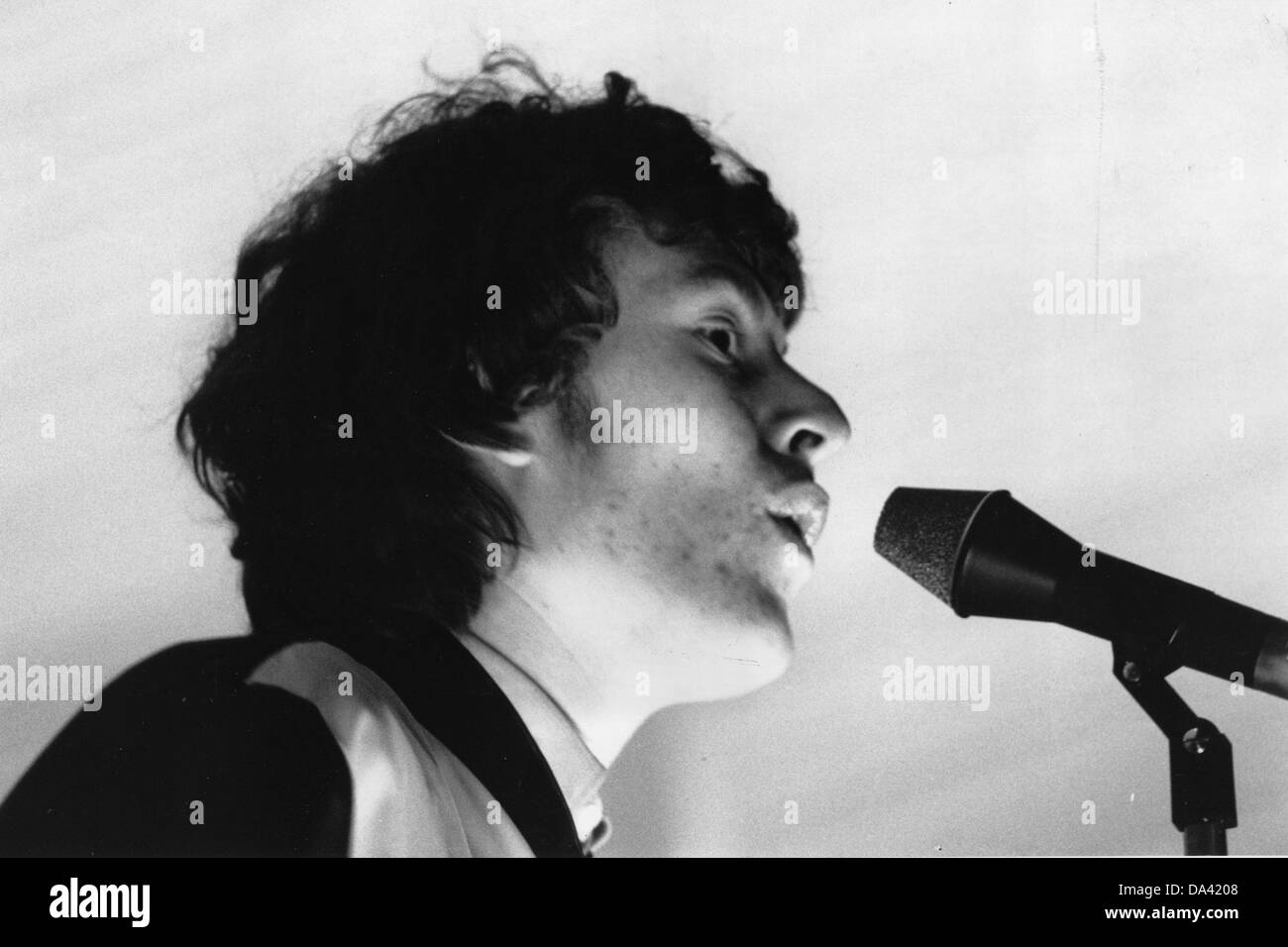 STEVIE WINWOOD  English rock guitarist in 1966 - Stock Image