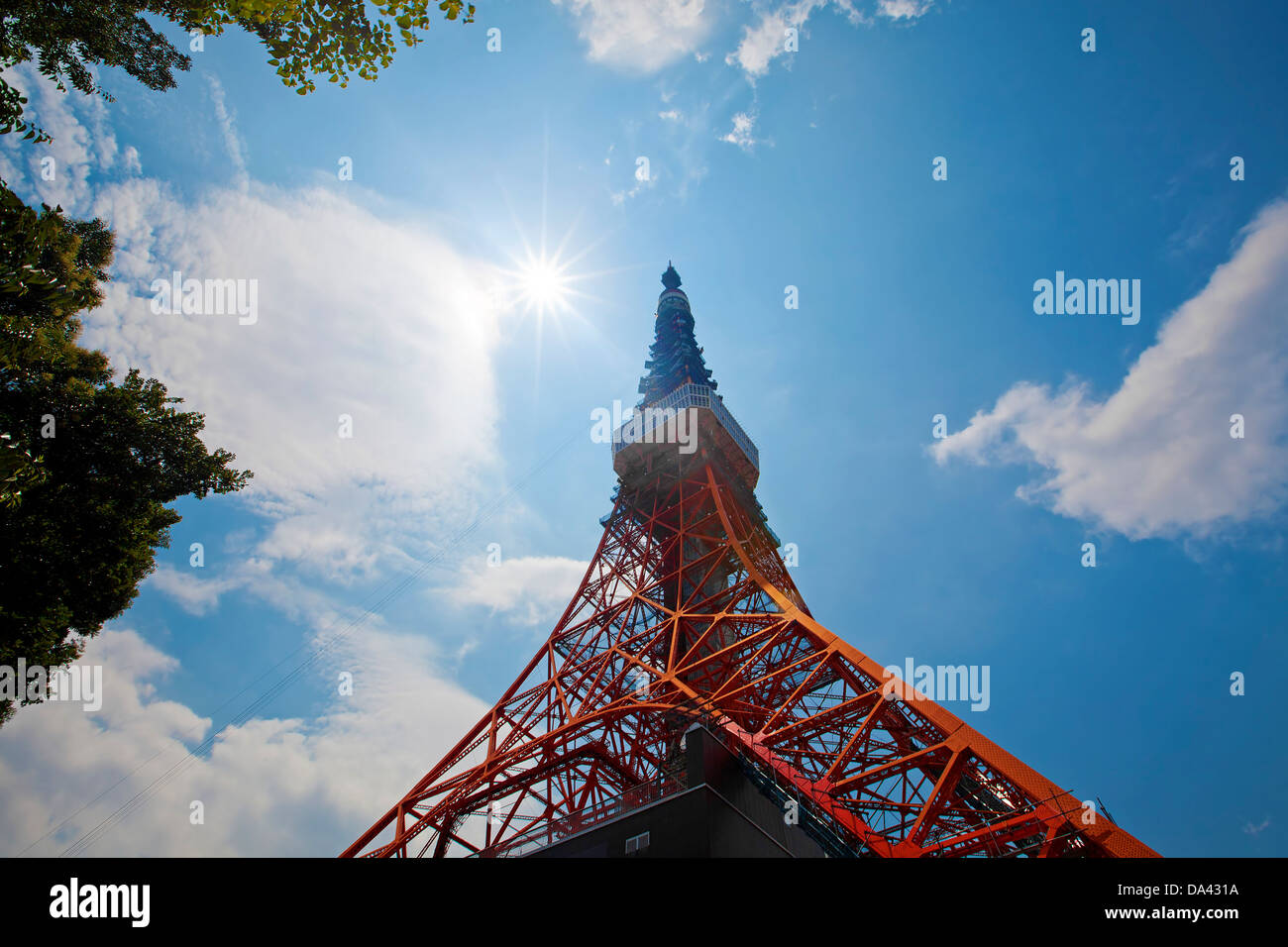 Tokyo Tower - Stock Image