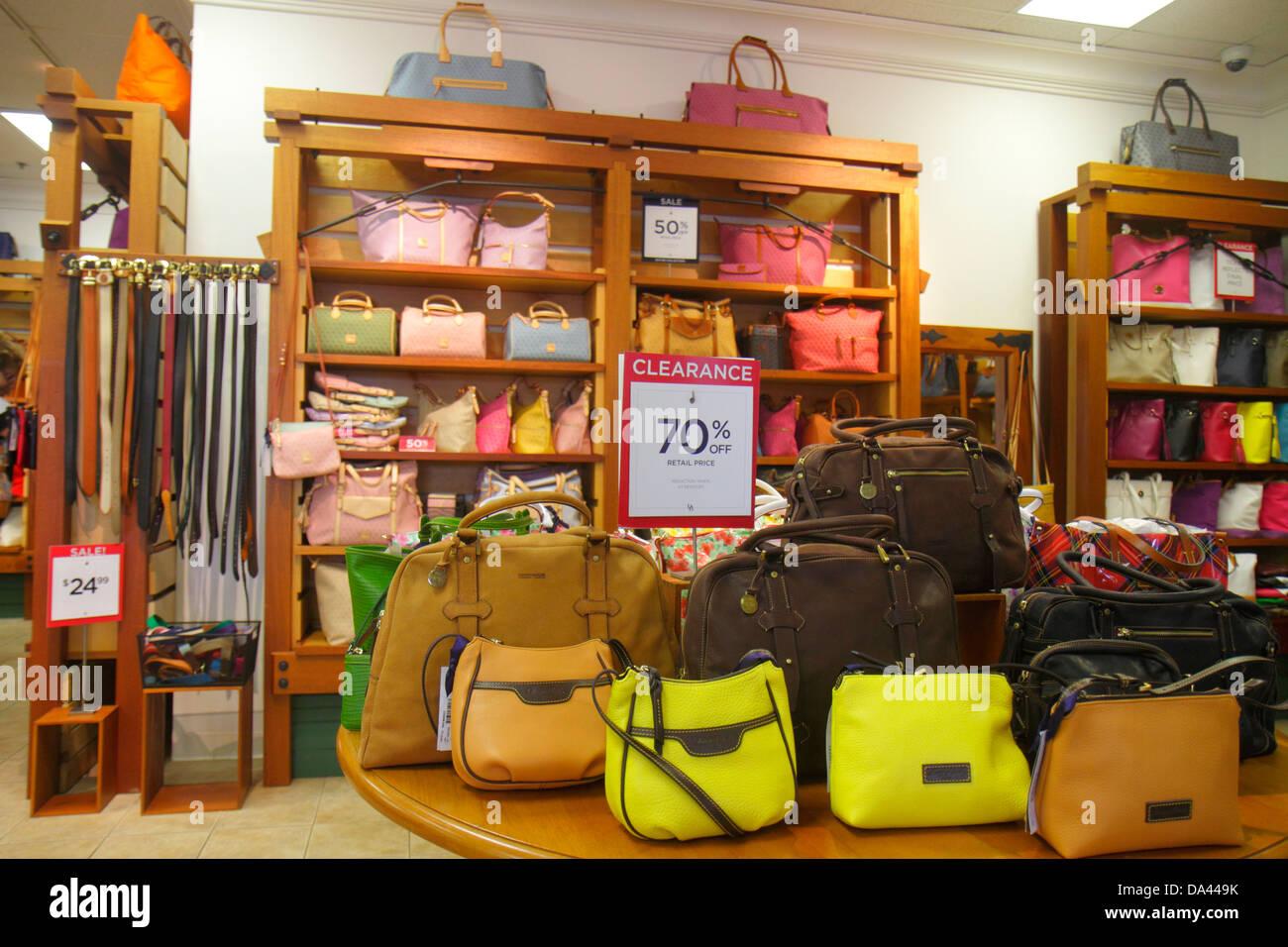 Vero Beach Florida Vero Fashion Outlets Shopping Dooney And Bourke